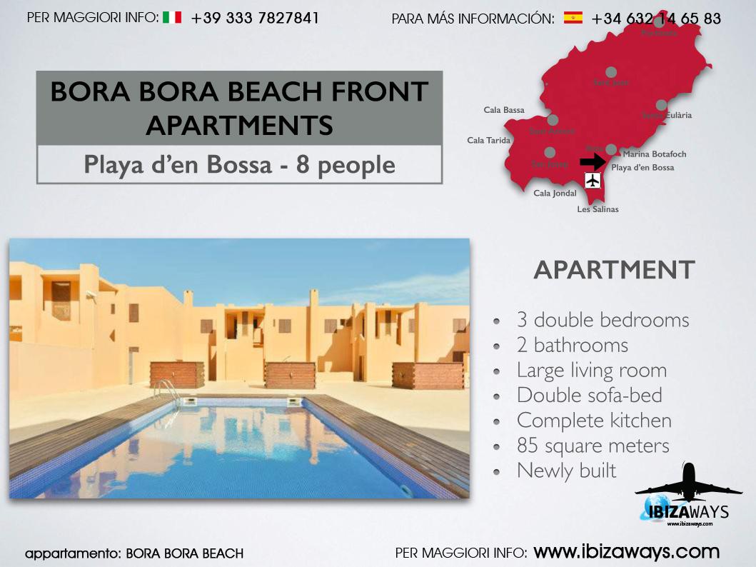 BORA BORA BEACH FRONT - Ibiza Ways