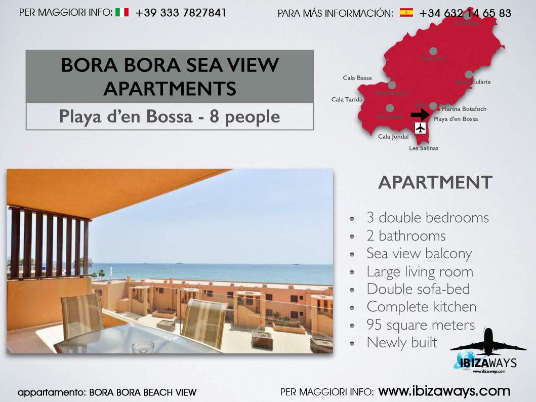 BORA BORA SEA VIEW - Ibiza Ways