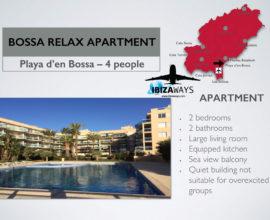 Appartamento Bossa Relax 4  Persone