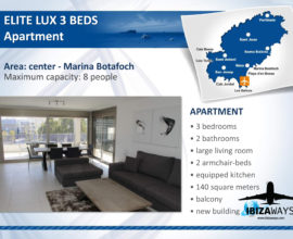 APPARTAMENTO ELITE LUX 3 BEDS
