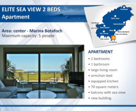 APPARTAMENTO ELITE SEA VIEW 2 BED 5 PERSONE